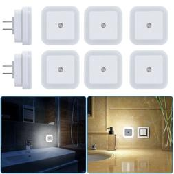 0.5W Plug-in Auto Sensor Control LED Night Light Lamp for Be