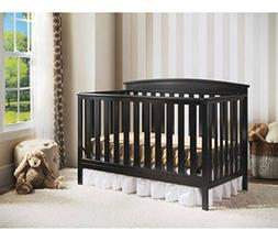 4-in-1 Convertible Baby Crib with a Kid-friendly Design That