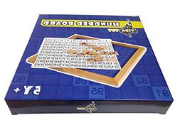 Vidatoy 10 Hole Cube for Shape Sorter and Maths Learning Woo