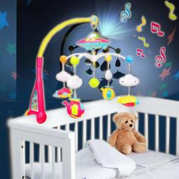 108 Song Baby Musical Crib Mobile Bed Bell Toys Hanging Ratt