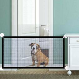 110CM Pet Dog Safety Guard Retractable Gate Folding Baby Tod