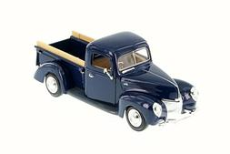 1940 Ford Pick Up truck, Blue - Motor Max 73234WB - 1/24 Sca