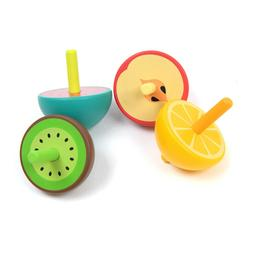 1PC Cute Color Wood Funny Fruit Shape Party Supplies for Bab
