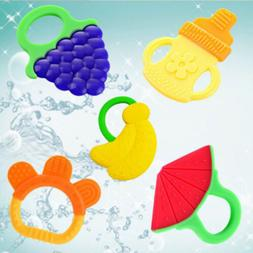 1PCS Silicone Food Baby Molar Teethers Glister For Baby Kid
