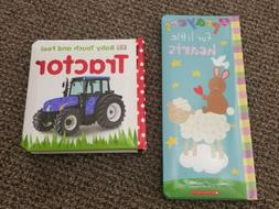 2 Baby Books New- DK Baby Touch and Feel: Tractor; Prayers f