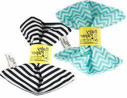 Baby Paper – 2 Pack of Crinkly, Sensory Toys, Black &