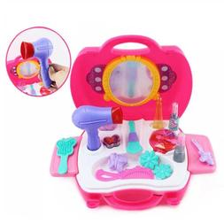 21pcs Toy Sets Simulation Make Up Gift Sets Hair Tools Stora