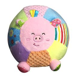 2017 0~24 month Baby Toys Animal Ball Soft Stuffed Toy Balls