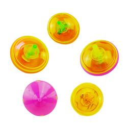 24pcs Spinning Tops Flashing Mini Cute Spinning Tops Gyrosco