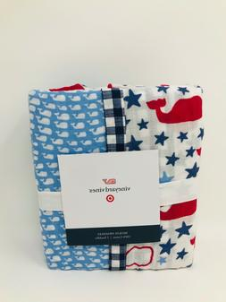 Vineyard Vines Target 2pk Muslin Swaddle Blanket School of W