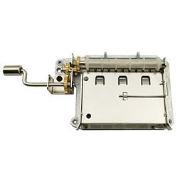 Wingostore 30 Notes Hand Crank Music Box Movement with Coppe