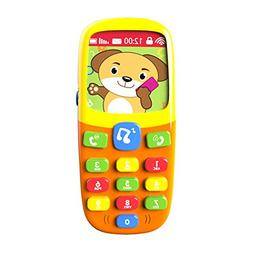 TOYK-3D Music Mobile Phone-Toddler Toys-for Kids Designed Le