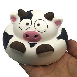 Trasfit 4' Jumbo Slow Rising Squishies Cow Bread - Large S