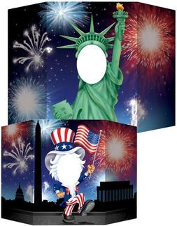 Beistle 57972 Patriotic Photo Prop, 3-Feet 1 by 25-Inch