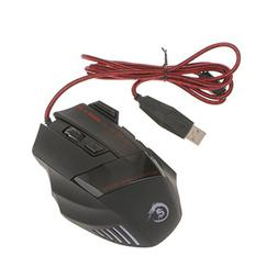 MagiDeal 5500DPI 7 Buttons LED USB Optical Wired Gaming Mous