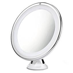 Cymas 7× Magnifying Lighted Makeup Mirror, 15 Min Auto Turn