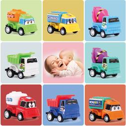 8pcs / Set Pull Back Car Toy Mini cars Cartoon Toys For Chil