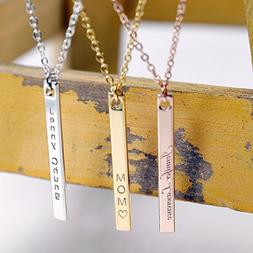 ❤️Best Valentine's Day Gift❤️ Vertical Name Necklace