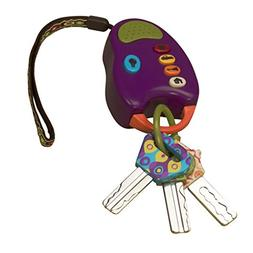 B. toys – FunKeys Toy – Funky Toy Keys for Toddlers and
