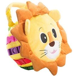 """BUCKLE TOY """"Benny"""" Lion Bag - Toddler Early Learning Basic L"""