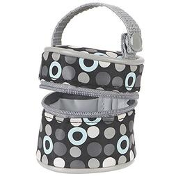 Babies R Us - Pacifier Holder - Circle and Ring Print