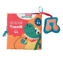 Baby Genius What Do You Hear Soft Activity Book with Sound f