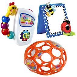Babyhaven Bundle: Baby Floor Mirror with Take Along Tunes Mu