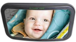 Back Seat Baby Mirror For Car - Rear View Mirror to See Babi