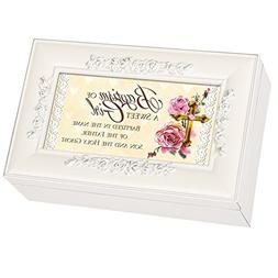Cottage Garden Baptism of a Sweet Girl Glossy Ivory Finish P