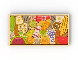 BeginAgain Alphabites A to Z Wooden Puzzle and Playset â€