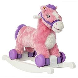 Candy 2-in-1 Rocking Pony, Rocking Plush Animal