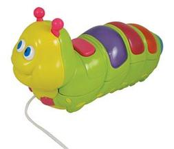 Caterpillar Pull Along with Lights and Sounds That Plays 16