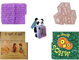 Children's Gift Bundle - Ages 0-2  - ABC Baby Blocks Cake To