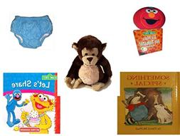 Children's Gift Bundle - Ages 0-2  - Giggling Elmo Hot Tomat
