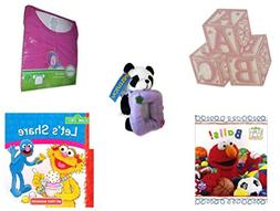 Children's Gift Bundle - Ages 0-2  Includes: ABC Baby Blocks