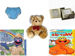 Children's Gift Bundle - Ages 0-2  Includes: Glass Photo Coa