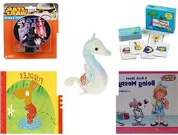 Children's Gift Bundle - Ages 3-5  - Green Alligators, Zoo &