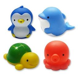 Clearance Sale-MICHLEY Baby Bath Toys Sea Animal Water Squir