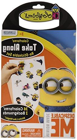 Colorforms Brand Despicable Me Take Along Restickable Set