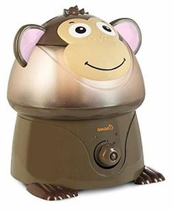 Crane USA Filter-Free Cool Mist Humidifiers for Kids, Monkey