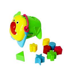 Dazzling Toys Baby Shapes Blocks with Animal Face Cover - Ki