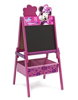 Delta Children Disney Wooden Double Sided Easel With Storage