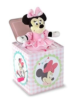 """Disney Baby Minnie Mouse Jack-in-the-Box, 6.25"""""""
