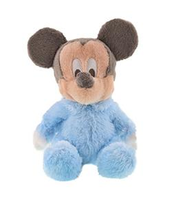 """Disney Soft 10"""" Plush Baby Mickey Mouse with Rattle Inside"""