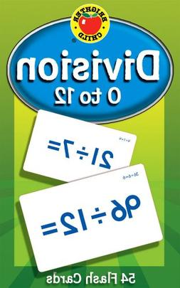 Division 0 to 12 Flash Cards