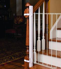"""EZ-Fit: 36"""" Baby Gate Walk Thru Adapter Kit for Stairs + Chi"""