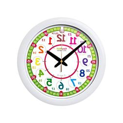EasyRead time teacher Children's Wall Clock, 12 & 24 Hour