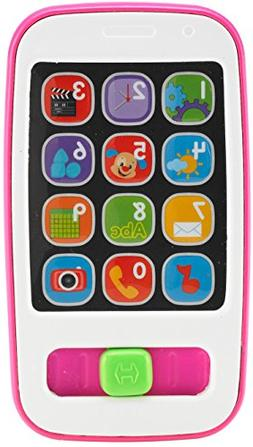 Fisher-Price Laugh & Learn Smart Phone, Pink