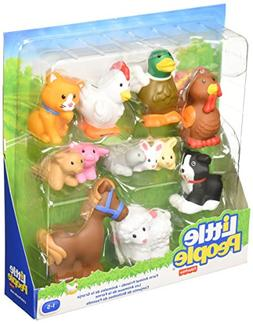 Fisher-Price Little People Farm Animal Friends with Baby Bun