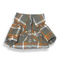 """Flannel Shirt - 8 inch - 9025 Fits 8"""" - 10"""" bears, includes"""